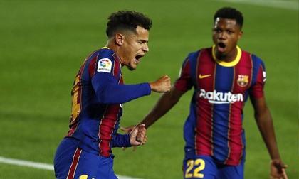 Messi tịt ngòi, Coutinho giúp Barca thoát thua trước Sevilla