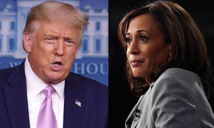 Ông Trump gọi bà Harris là 'quái vật'