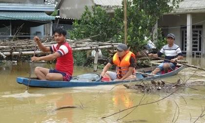 Huế: 5 người chết do mưa lũ, gần 63.000 nhà dân bị ngập