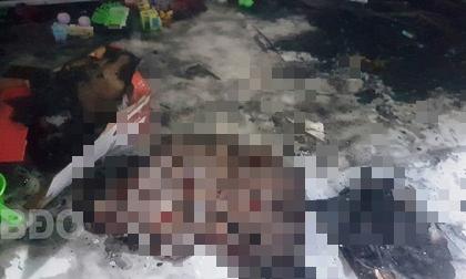 Khóa cửa bên trong rồi nghịch lửa, 2 bé chết thảm vì hỏa hoạn