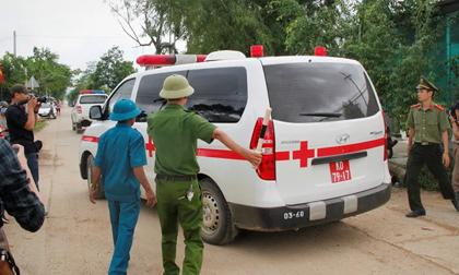 Tìm thấy 7 thi thể đầu tiên trong Đoàn cán bộ công tác gặp nạn ở khu Rào Trăng 3