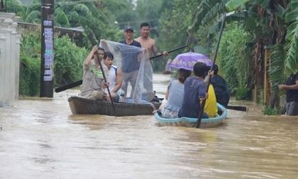 Quảng Nam mưa to, nước sông lên lại, dự báo lũ sẽ đặc biệt lớn