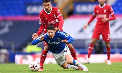 James Rodriguez giúp Everton giữ ngôi đầu