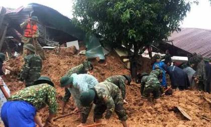 Vụ 22 cán bộ, chiến sĩ bị sạt núi vùi lấp: Tìm thấy 11 thi thể, đề nghị hỗ trợ trực thăng đưa thi thể ra ngoài