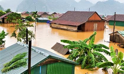 Lũ ở Quảng Bình vượt mức lịch sử năm 1979 gần 1 m