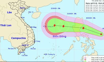 Áp thấp nhiệt đới khả năng mạnh thành bão hướng vào Miền Trung, Miền Bắc đón không khí lạnh tăng cường, nền nhiệt giảm sâu