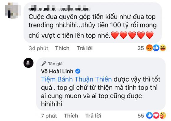 Bị so sánh với Thuỷ Tiên khi chỉ kêu gọi được 500 triệu cứu trợ miền Trung, Hoài Linh lên tiếng đáp trả