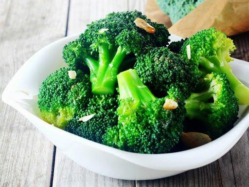Bông cải xanh giàu canxi tốt cho sức khỏe của trẻ nhỏ