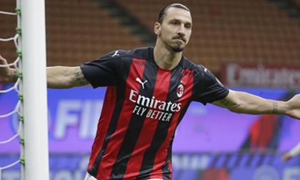 Ibrahimovic lập cú đúp, AC Milan giữ vững mạch bất bại