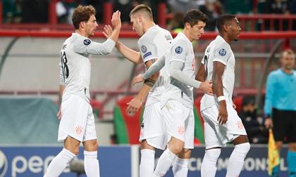 Bayern tiếp tục phong độ hủy diệt, thắng trận thứ 13 liên tiếp tại Champions League