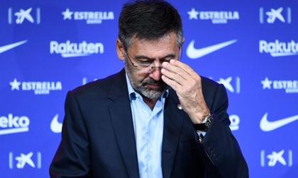 Chính thức: Chủ tịch Bartomeu và ban lãnh đạo Barca đồng loạt từ chức