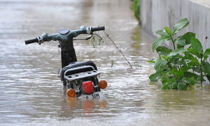Tình cảnh trốn bão chưa xong đã phải chạy lũ của người Quảng Ngãi