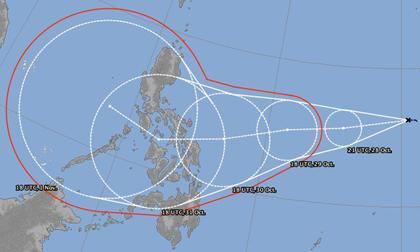 Ngay sau bão số 9, Biển Đông lại chuẩn bị đón bão lớn Goni