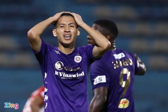 CLB Hà Nội mất quyền tự quyết trong cuộc đua vô địch
