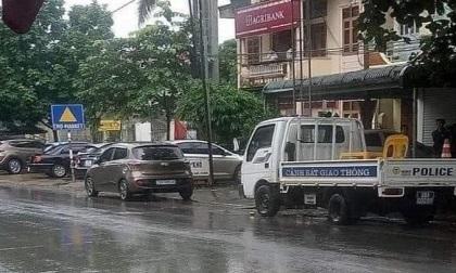 Công an điều tra vụ cướp ngân hàng ở Hòa Bình
