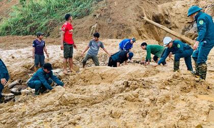 Thêm một vụ sạt lở ở Quảng Nam, một người mất tích