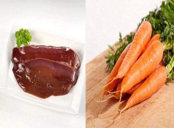 Thực phẩm kỵ với cà rốt