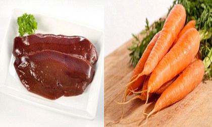 Những thực phẩm chớ kết hợp chung với cà rốt kẻo tạo thành độc tố gây hại sức khỏe