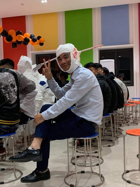 Những màn hóa trang siêu dị của học sinh ngày Halloween, thầy cô cũng lầy lội chẳng kém - 2