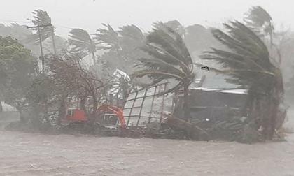 Siêu bão số 10 càn quét Philippines, nhấn chìm gần 150 ngôi nhà và nhiều người thiệt mạng