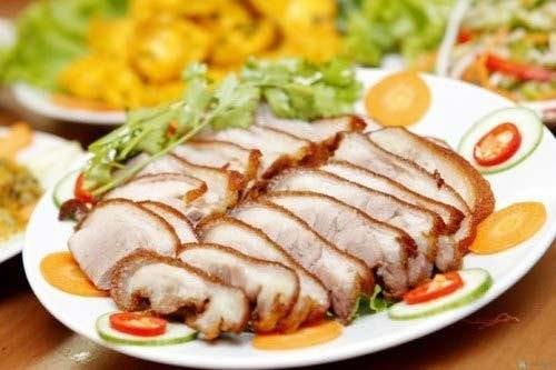 Bí quyết rán thịt bì giòn tan