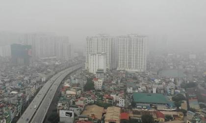 'Sương mù' bao phủ Hà Nội trong cái se lạnh như Tết nhưng mức báo động về không khí mới khiến bạn giật mình