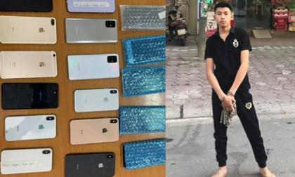 Thanh niên 18 tuổi gây ra 15 vụ cướp giật tại Hà Nội