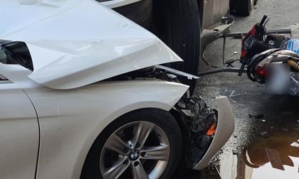 Tai nạn ô tô trên đường bị truy đuổi, 1 người chết, 3 người bị thương