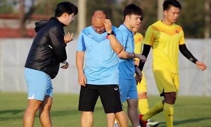 """HLV Park Hang Seo đối mặt """"cơn ác mộng"""""""