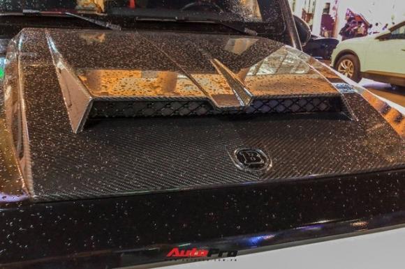 Minh 'nhựa' lột xác 'con cưng' Mercedes-AMG G63 Edition 1 với bộ bodykit Brabus hầm hố - 3
