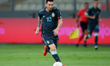 Messi vô duyên trong trận thắng của Argentina
