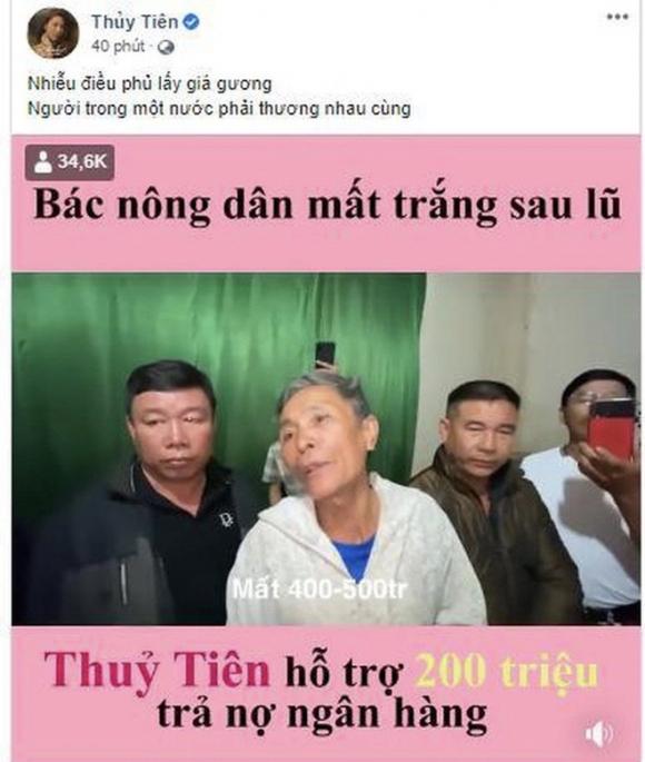 Hành trình cứu trợ miền Trung của Thủy Tiên: Khép lại 40 ngày với 178 tỷ đồng, toàn bộ giấy tờ đều được công khai, Công Vinh tuyên bố 'bỏ vợ' nếu có lần sau - 1