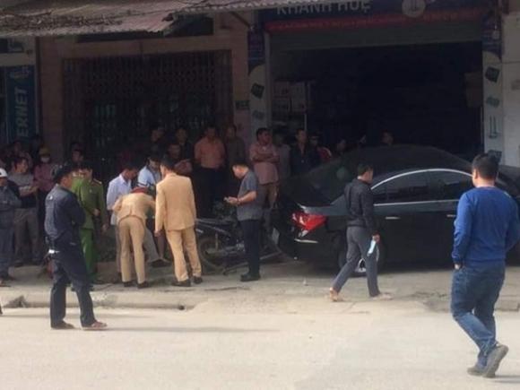 Tài xế ô tô tông 2 cha con tử vong ở Thái Nguyên không có bằng lái và đang bỏ trốn