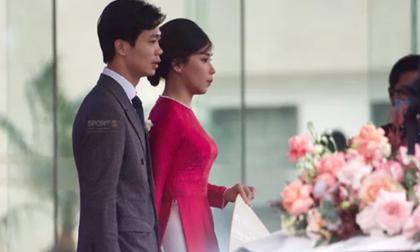 Công Phượng đón dâu bằng siêu xe Mercedes Maybach, đoàn nhà gái 50 người từ TP. HCM đưa Viên Minh về nhà chồng