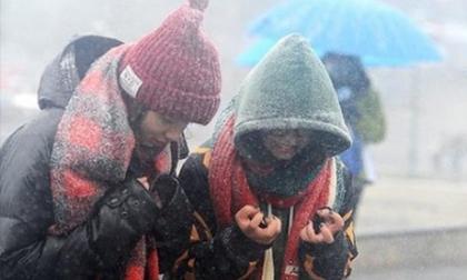 Không khí lạnh tăng cường 'cực mạnh' gây rét đậm rét hại toàn miền Bắc, Sa Pa xuống 5 độ C có thể xuất hiện băng tuyết