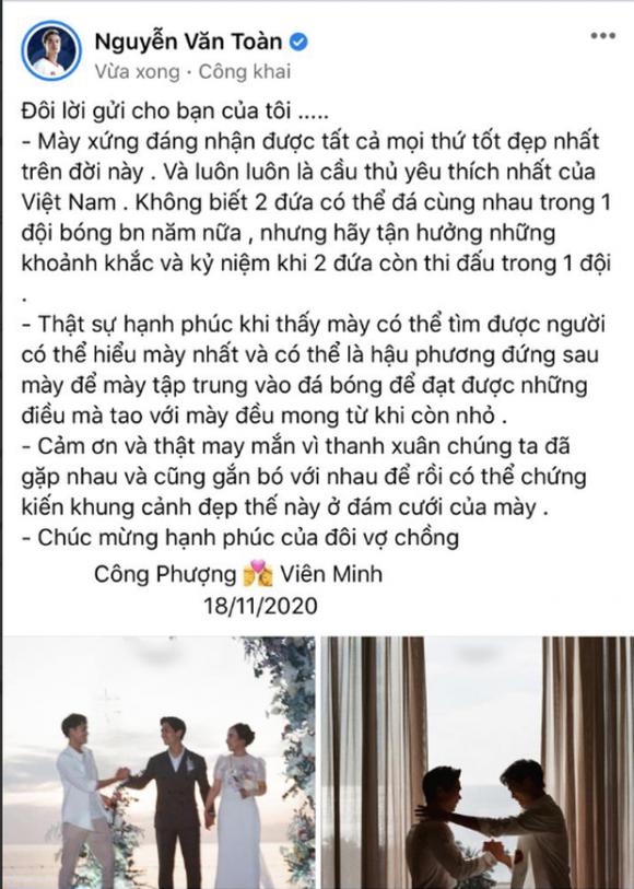 Văn Toàn viết tâm thư gửi Viên Minh: 'Một người xinh gái, thông minh như bạn sao lại chấp nhận Phượng dễ dàng thế?' - 3