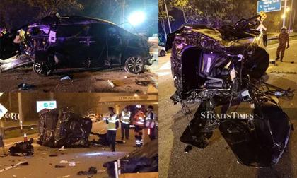 Tiền đạo tuyển Malaysia gây tai nạn thảm khốc làm mẹ vợ và con trai tử vong