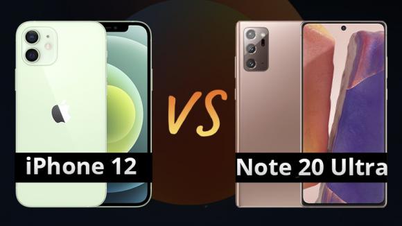 25 triệu nên mua iPhone 12 hay Note 20 Ultra?