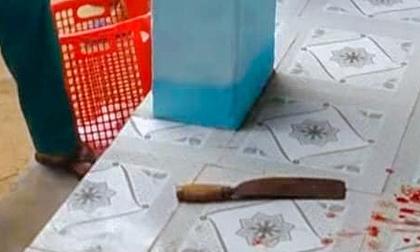 Cô giáo trường tiểu học dùng dao chém đồng nghiệp
