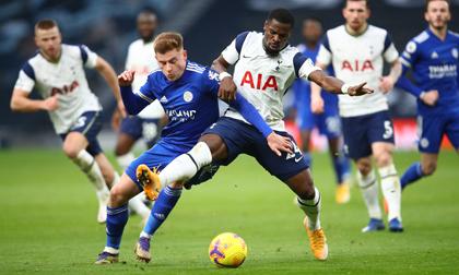Quật ngã chủ nhà Tottenham, Leicester đòi ngôi nhì Ngoại hạng Anh