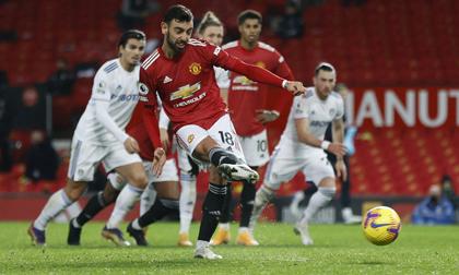 Mở đại tiệc bàn thắng ở Old Trafford, Man United bay cao Top 3 Ngoại hạng Anh
