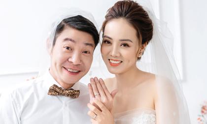 Hé lộ bộ ảnh cưới của NSND Công Lý và bà xã xinh đẹp kém 15 tuổi
