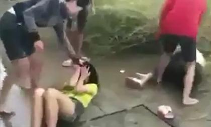 Hai nữ sinh THCS ở Đồng Nai bị chặn đánh dã man giữa đường
