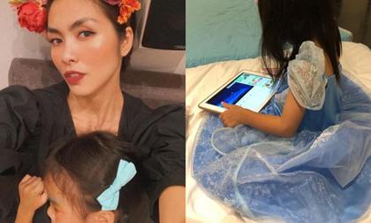 Hà Tăng tự hào khoe con gái 3 tuổi đã bộc lộ năng khiếu nghệ thuật