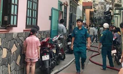 Một phụ nữ tử vong trong căn nhà cháy ở TP.HCM