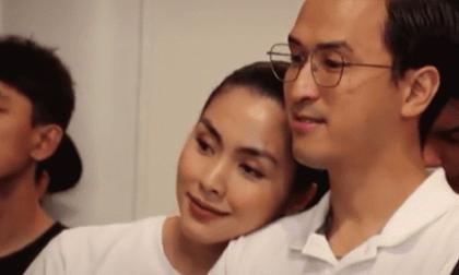 Khoảnh khắc Hà Tăng tựa đầu vào vai Louis Nguyễn gây sốt, nhìn nụ cười ấm áp đủ hiểu hạnh phúc ra sao