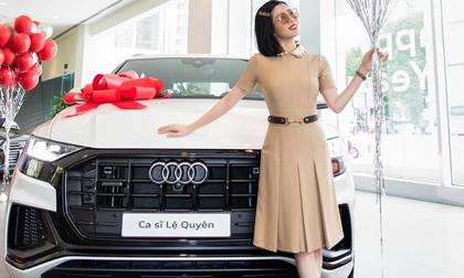 Lệ Quyên trở thành người đầu tiên ở Việt Nam sở hữu chiếc Audi Q8