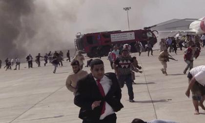 Những tình tiết mới trong 2 vụ nổ ở sân bay Yemen khiến 140 người thương vong