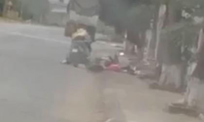 Khoảnh khắc kinh hoàng người phụ nữ bị đối tượng nam giới sát hại dã man trên đường về nhà ngoại