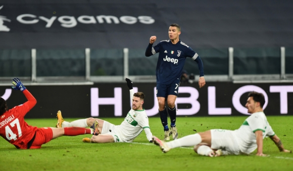Ronaldo san bằng kỷ lục ghi nhiều bàn nhất lịch sử bóng đá - Ảnh 2.